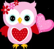 owl love kid