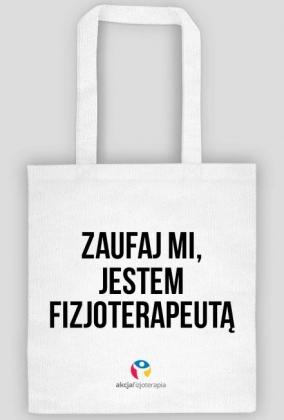 1f0c767b76ac3 FIZJOTERAPEUTA - torba biała - eco torby w Akcja Fizjoterapia