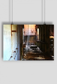 Plakat Czarnobyl Reaktor