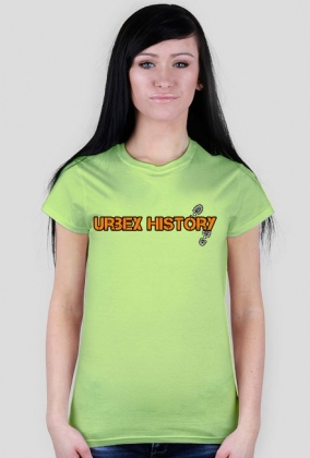 Napis Urbex History mix kolor
