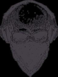 Czaszka ze słuchawkami