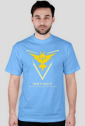 Pokemon GO - koszulka Team Instinct