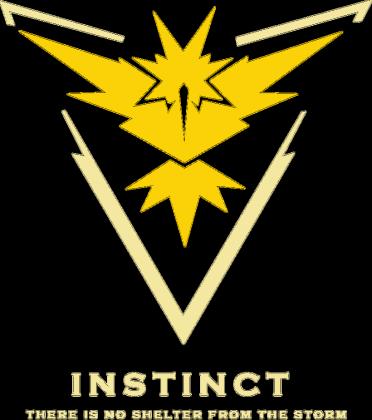 Pokemon GO - bluza Team Instinct
