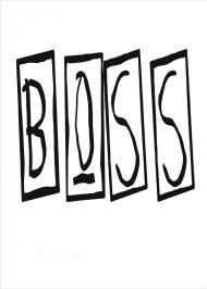 PLAKAT A2 Boss