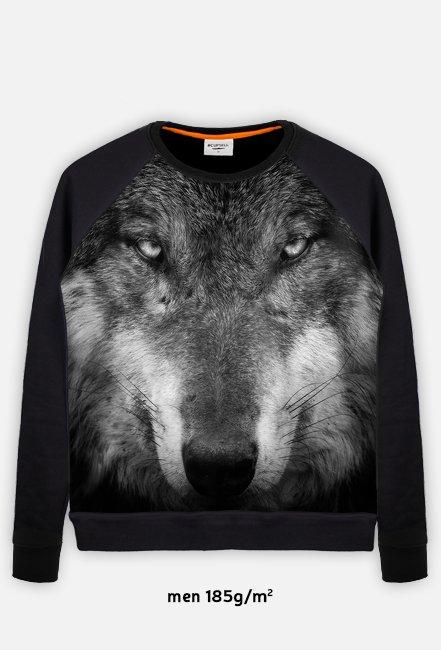 "Lekka bluza Longsleeve ""Wolf"""
