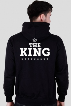 THE KING / bluza z kapturem