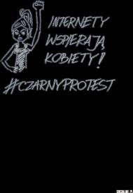 #czarnyprotest t-shirt męski