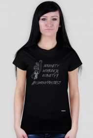 #czarnyprotest t-shirt damski2