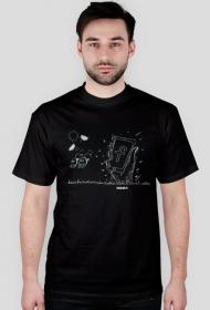 Fejsbuk żyje t-shirt męski