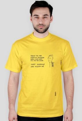 Suspense t-shirt męski