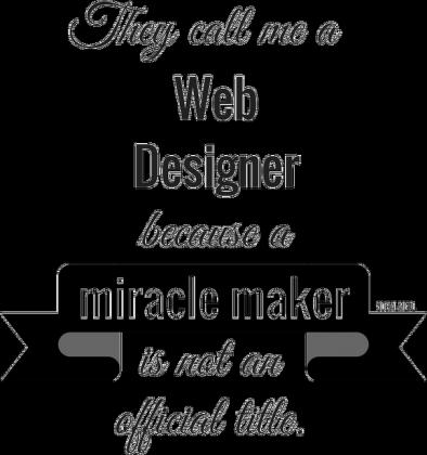 Web designer t-shirt męski
