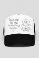 Marketing master czapka