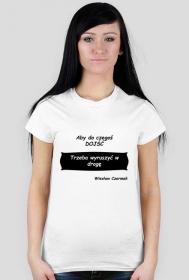 Koszulka Damska z cytatem