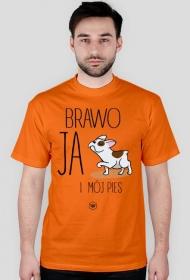 Koszulka męska - BRAWO JA I MÓJ PIES