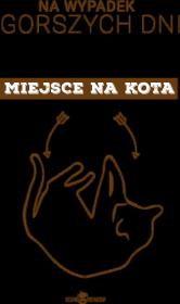Koszulka damska - KOT NA GORSZE DNI