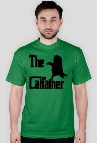 Koszulka męska - THE CATFATHER