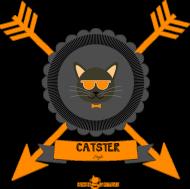 Koszulka męska - CATSTER