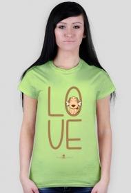 Koszulka damska - LOVE PIES