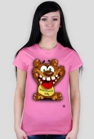 Koszulka damska - UŚMIECHNIJ SIĘ