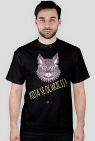 Koszulka męska - KOTA SE OCHRZCIJ !