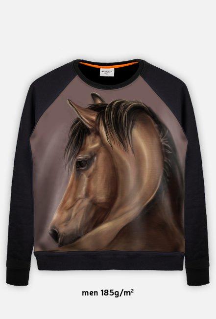 Bułany koń - portret