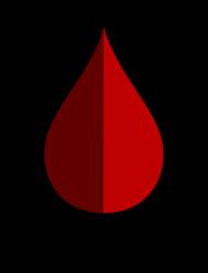 """Wlepka """"Jestem krwiodawcą"""""""