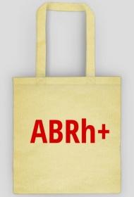 "Torba z grupą krwi ""ABRh-"""