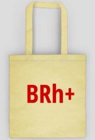 "Torba z grupą krwi ""BRh+"""