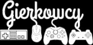 Czarna Fanowska Gierkowcowa Koszulka (Męska slim)