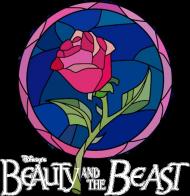 Fanowska koszulka z Pięknej i Bestii - damska z napisem