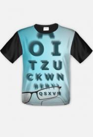 Koszulka męska - okulary