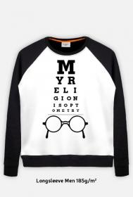 Bluza męska - My religion is optometry