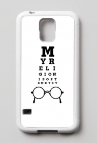 Case Samsung Galaxy S5 - My religion is optometry