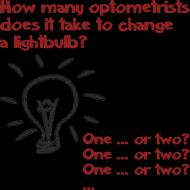 Kubek kolor - How many optometrists