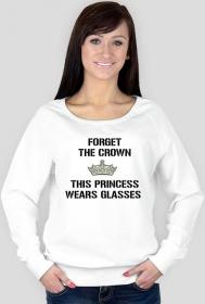 Bluza damska - Forget the crown