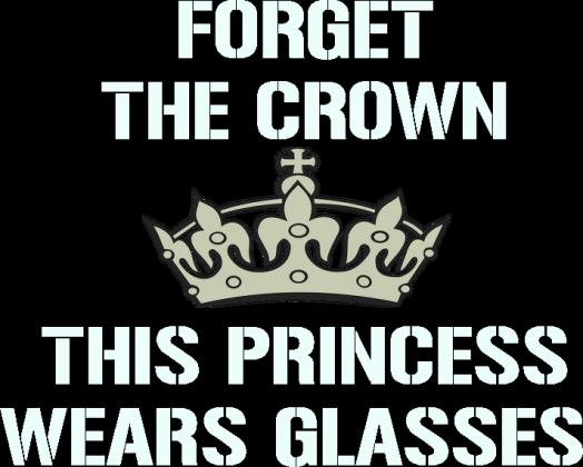 Koszulka damska - Forget the crown