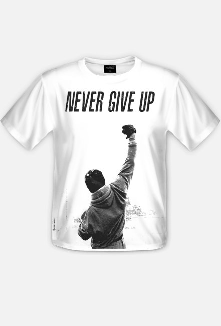 Rocky Balboa NEVER GIVE UP