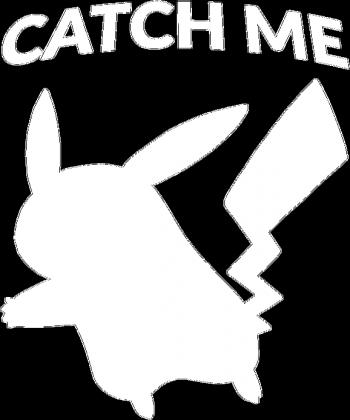 "Koszulka damska Pokemon Pikachu ""CATCH ME"""