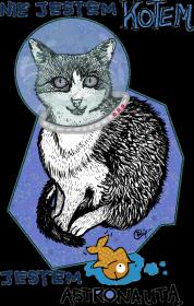 Kot w kosmosie