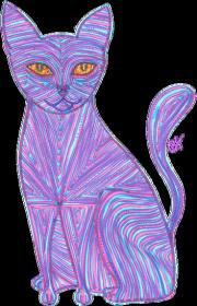 Kubek pozytywny kot