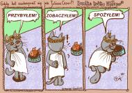 Torba Kot niczym Juliusz Cezar - NOWOŚĆ!
