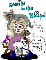 "PROMOCJA! Oficjalna torba ""Komiks kotka Whisper"" by Paulina Różańska"