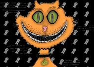 PROMOCJA! Śmiejący się kot! Grin cat! Portfel