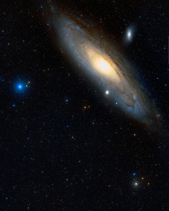 """Podkładka pod myszkę """"Kosmos. Galaktyka Andromedy"""""""