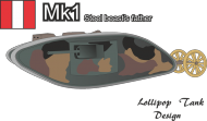 Lollipop Tank Design MK1 battelfield 1
