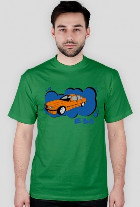 Bmw e36 Orange t-shirt