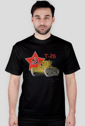 Lollipop Tank Design - Czołg T-26