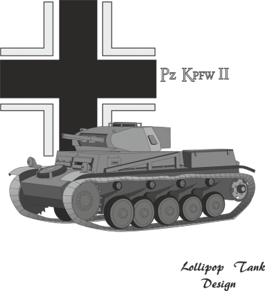 Lollipop Tank Design - Pz II