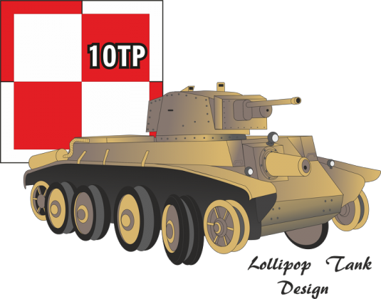 lollipop Tank Design - 10 Tp