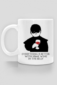 Everything Is Better With Some Wine – kubek